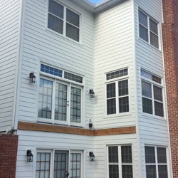 Artic White James hardie siding 015