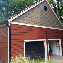 Red James hardie siding 010